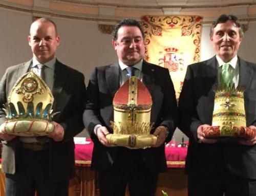 Los Reyes Magos del Ateneo de Sevilla ya lucen sus coronas